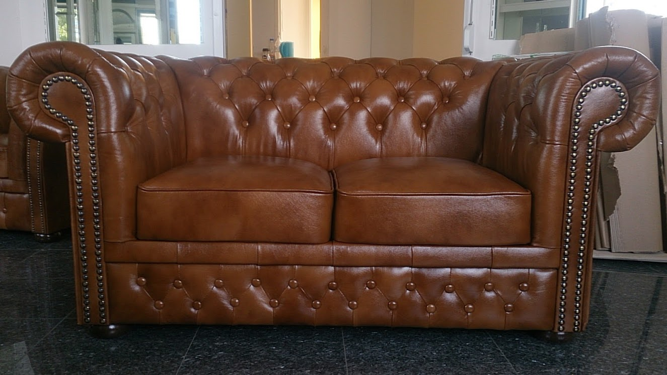 Chesterfield Lord 2-es kanapé óarany S12 Bruttó ár: 349.250 Ft