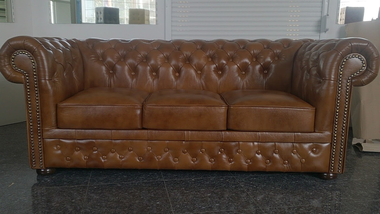 Chesterfield Lord 3-as kanapé óarany S12 Bruttó ár: 469.900 Ft