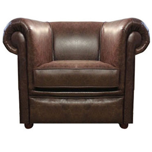 Chesterfield London bőrfotel antikbarna (A5) Bruttó ár: 279.400
